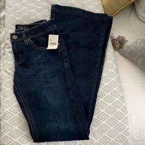 NWT DLI 1961 Blue Jeans with Flare Bottom